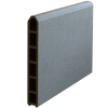 Plus Futurahegn 90x180cm composit/skifergrå med glas