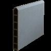 Plus Futurahegn 180x180cm composit/skifergrå med glas