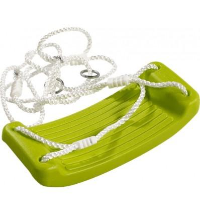 PLUS gyngesæde plast grøn