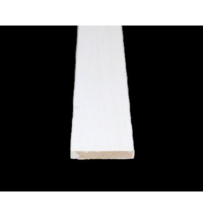 15x95 mm høvlet udhængsbrædder grundmalet