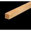 45x45mm høvlet lærk stolpe 300cm