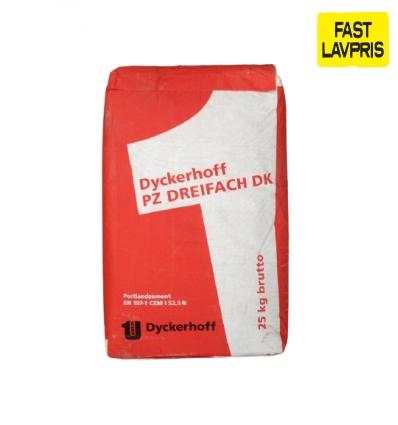 Dyckerhoff cement ekstra stærk 52,5N - 25kg