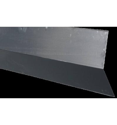 DS 01 Vinkelrygning sort 250cm