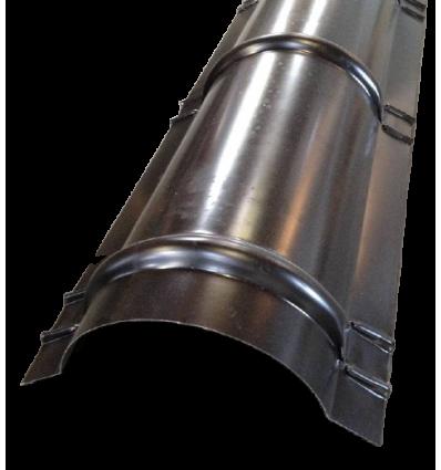 DS Rygning Rund 222cm - polyester sort
