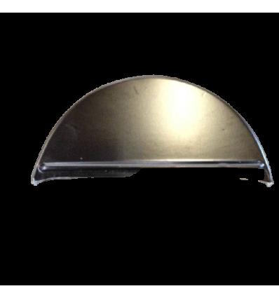 DS endeluk polyester sort - til rund rygning
