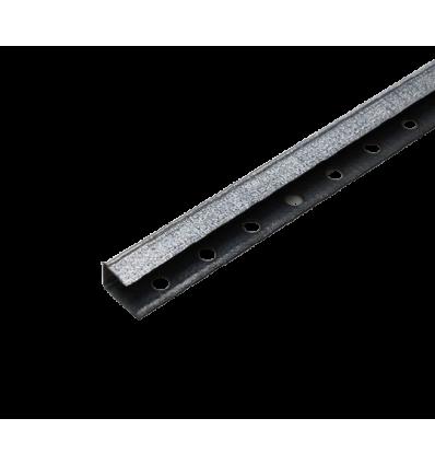 Lindab afslutningsliste 13mm 245cm (ks13)