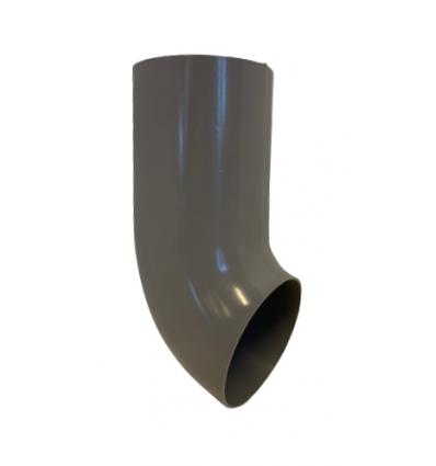 Udkaster Ø75 MM PVC GRÅ