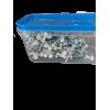 Nem monteringsskrue til plasttrapez 4,8x35mm 100stk. hvid