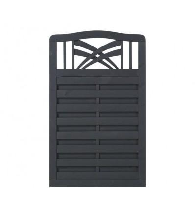 Rondo Hegn - grundmalet antracit - 90x142/146 cm