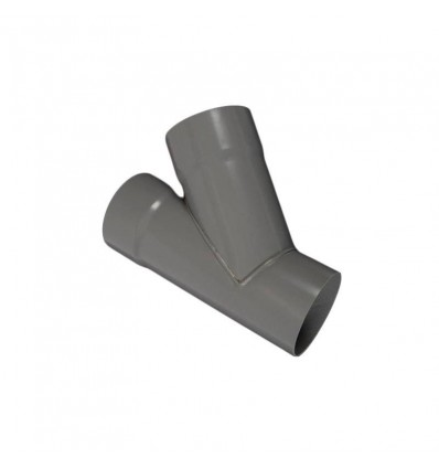 Grenrør ø75mm grå
