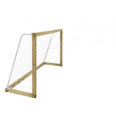 PLUS Fodboldmål 2,4×1,28 meter inkl. net