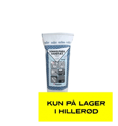 Skalflex Sokkelpuds Vandtæt 25 kg