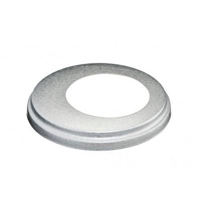 Brøndkrave 150 mm ø75 mm aluzink