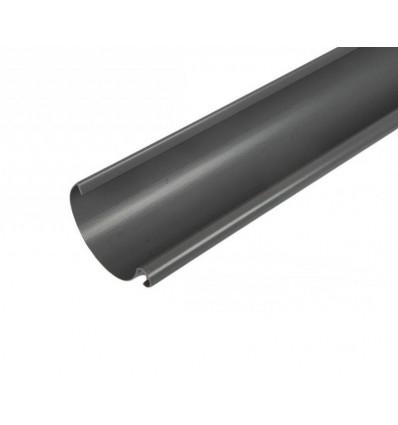 100 mm plast tagrende grå 2 meter