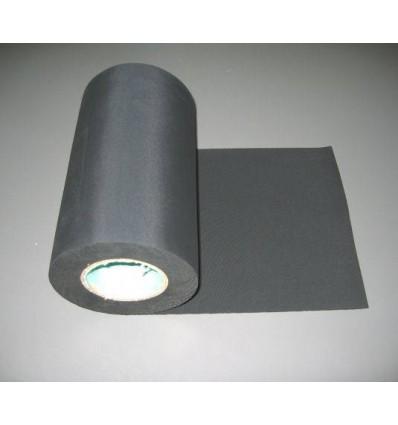 10 mtr. x 25 cm sort EPDM inddækningsgummi 1,2mm