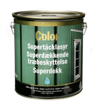 Color Superdækkende træbeskyttelse 5,0 Liter vandbaseret