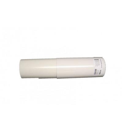 Fresh F100 teleskoprør ø100mm 25-45cm hvid