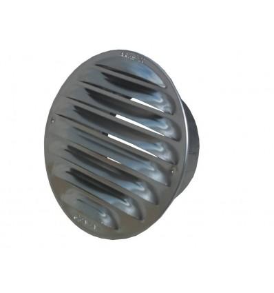 Fresh murrist med flange ø100/130mm aluminum