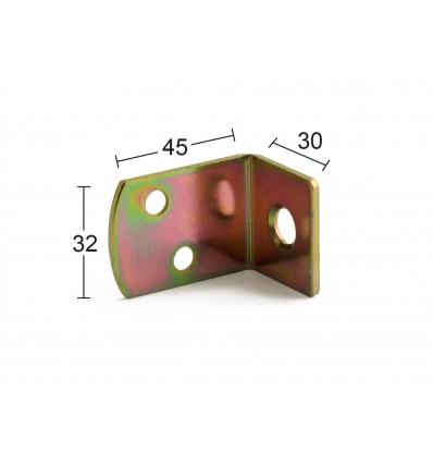 Habo stakitholder 4stk. m/løse skruer