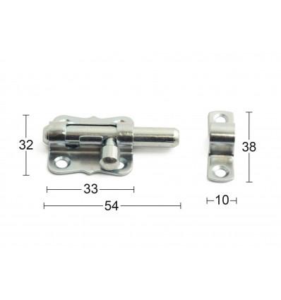 Habo skudrigle 35mm mini elforzinket