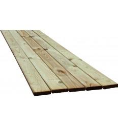 Terrassebrædder - Køb trykimprægneret terrassebrædder i fyr og brun