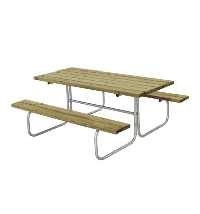 Plus Classic bord/bænkesæt 155x177x73cm