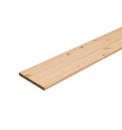 Scandiwood hylde fyr - 25x300x1000mm