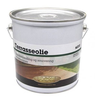 Faxe Terrasseolie klar 5,0 liter