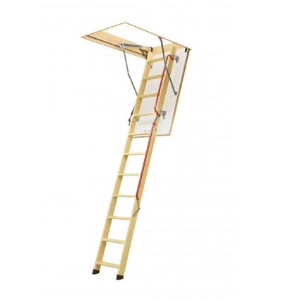 Fakro LWL extra56 lofttrappe 280cm 3-segmenter