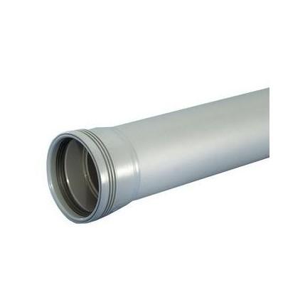 50mm x 200 cm grå afløbsrør