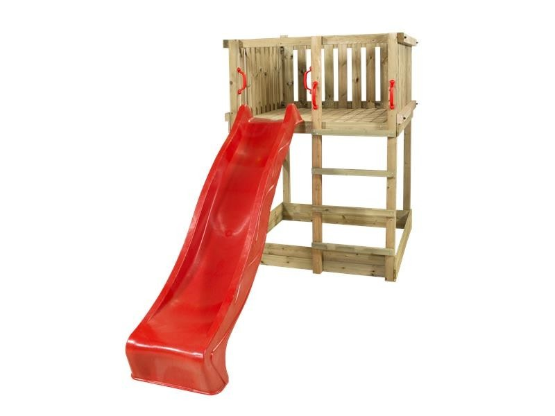Plus play legetårn med rutchebane