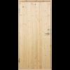 PLUS Udhusdør std. panel inkl. karm - 88,6 x 197,8 cm