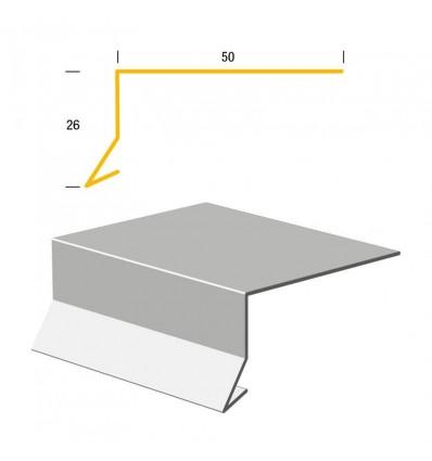 Bygtjek Murafdækning 26x50mm - 1meter