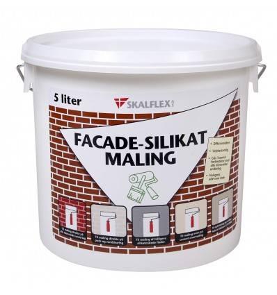 Skalflex facade-silikat maling - specialfarver