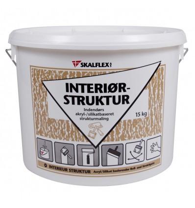Skalflex interiør-struktur