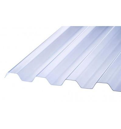 Rodena PVC Trapezplade (NATUREL) 244 cm