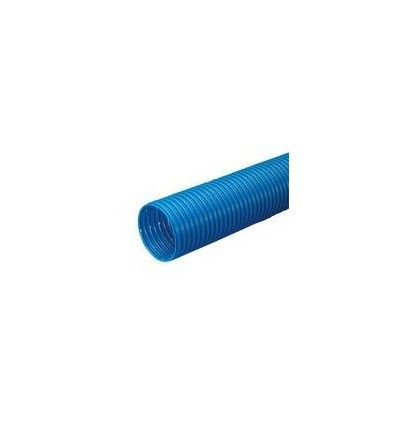 Wavin 75/65 mm PVC-drænrør, 50 m, blå