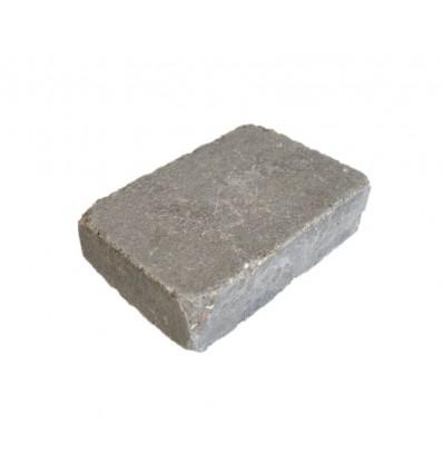 """Herregårdssten 7,0x14x21cm grå """"rumlet"""""""