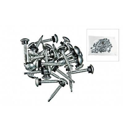 Skrue 4,8x35mm m/borespids 50 stk pr,ps,