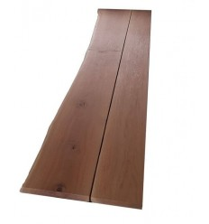 Plank Eg 30mm 230/310mm 2 meter 1 skåret kant