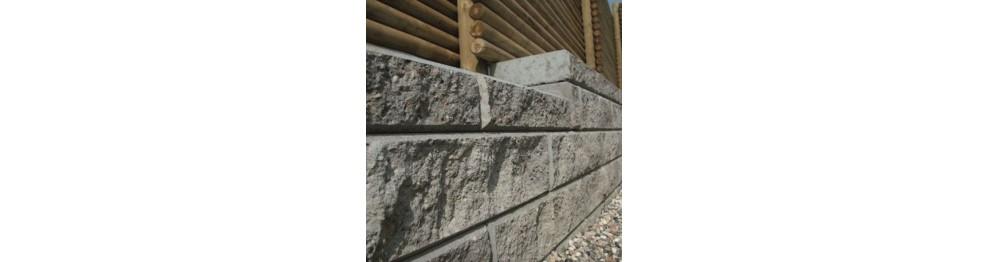 Læmur - støttemur